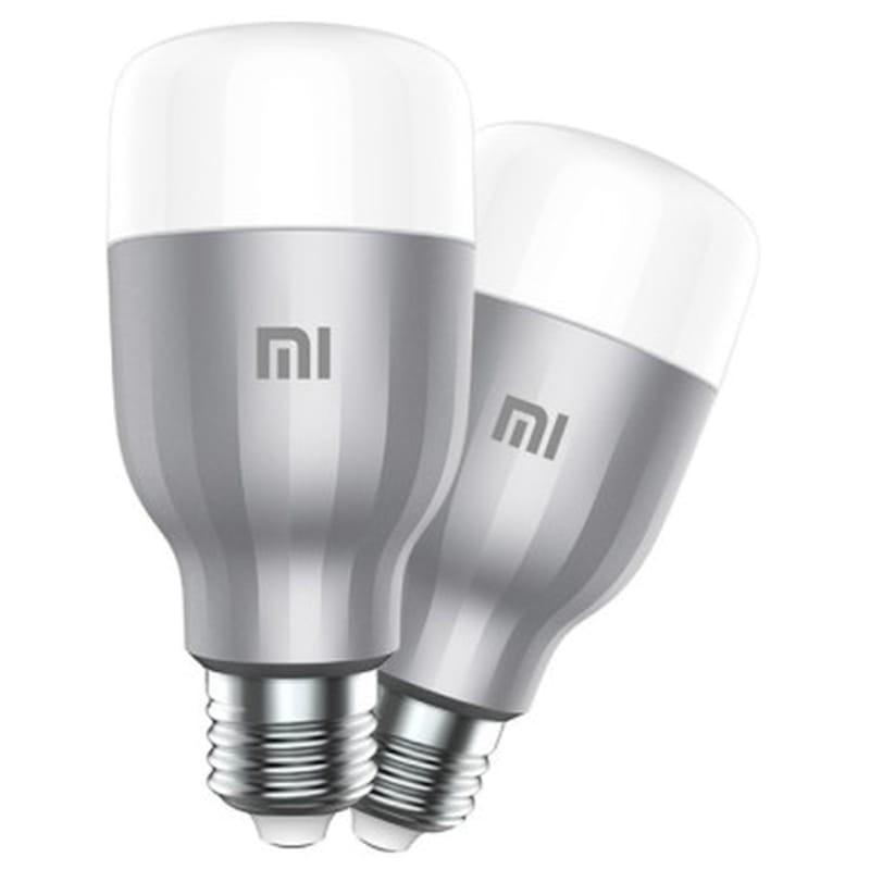 Xiaomi - Lâmpada Inteligente Xiaomi Mi LED Smart Bulb Yeelight 10W Branco e RGB (Pack 2)