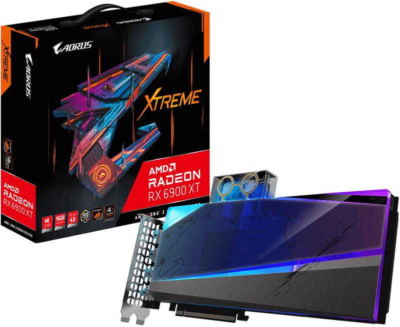 Gráfica Gigabyte Radeon RX 6900 XT Xtreme Waterforce WB 16GB