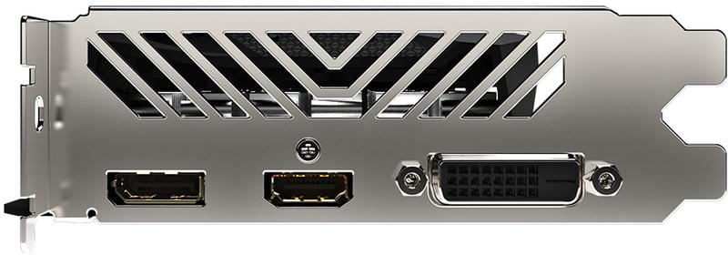 Gigabyte - Gráfica Gigabyte GeForce® GTX 1650 Windforce D6 OC 4G