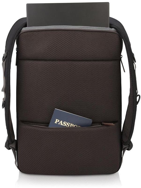 """Lenovo - Mochila 15.6"""" Lenovo Urban B810 Preto"""