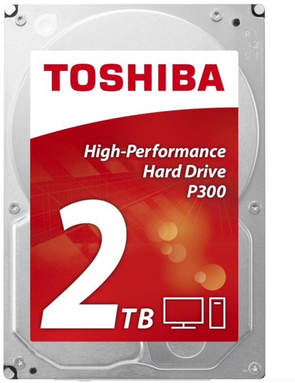 Toshiba - Disco Toshiba 2TB P300 7200rpm 64MB SATA III