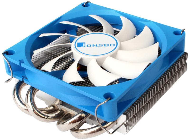 Cooler CPU Jonsbo HP-400 Low Profile Azul - 90mm