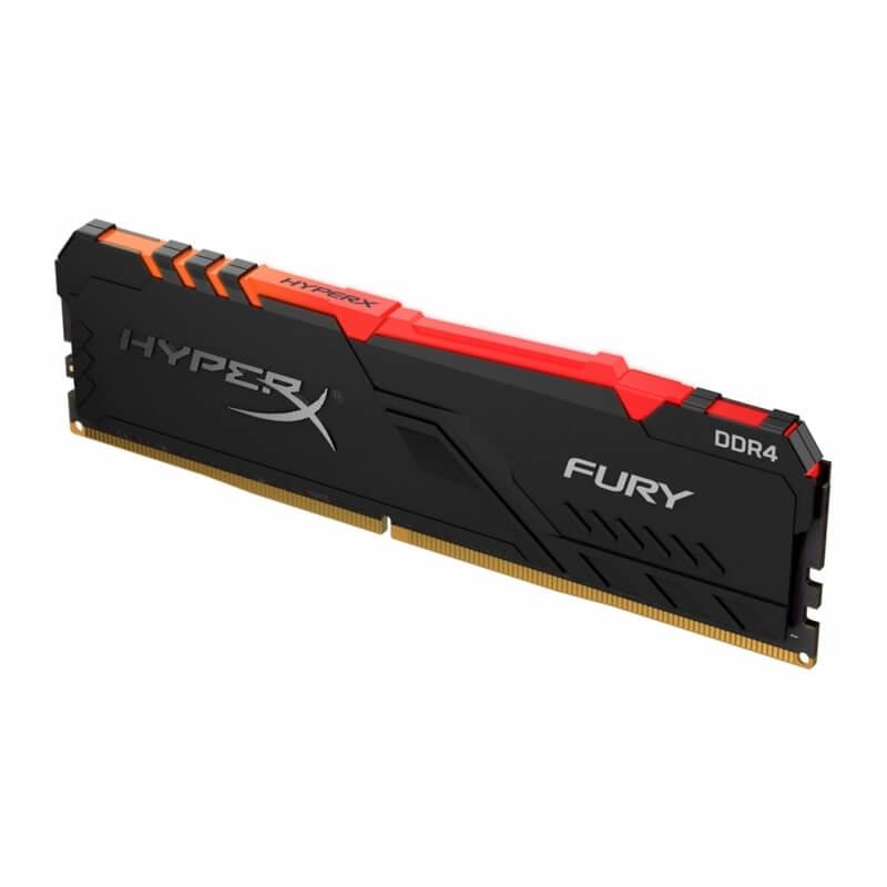 HyperX - HyperX 16GB DDR4 3200MHz Fury RGB CL16