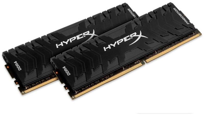 HyperX - HyperX Kit 16GB (2 x 8GB) DDR4 3200MHz Predator Black CL16