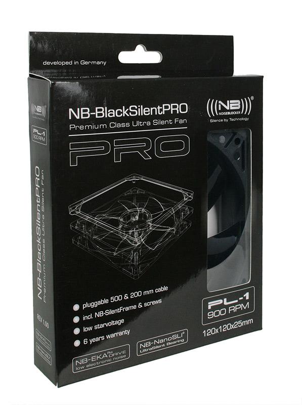 Noiseblocker - Ventoinha Noiseblocker BlackSilent Pro PL1 120mm