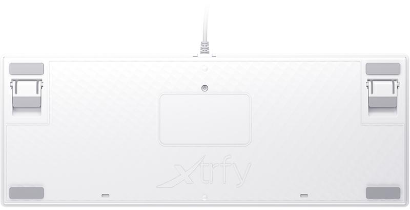 Xtrfy - Teclado Xtrfy K4 TKL RGB Gaming  Kailh Red Switch Branco - Mecânico ( PT)