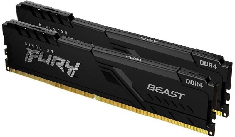 Kingston Kit  32GB (2 x 16GB) DDR4 3600MHz FURY Beast Preto CL18