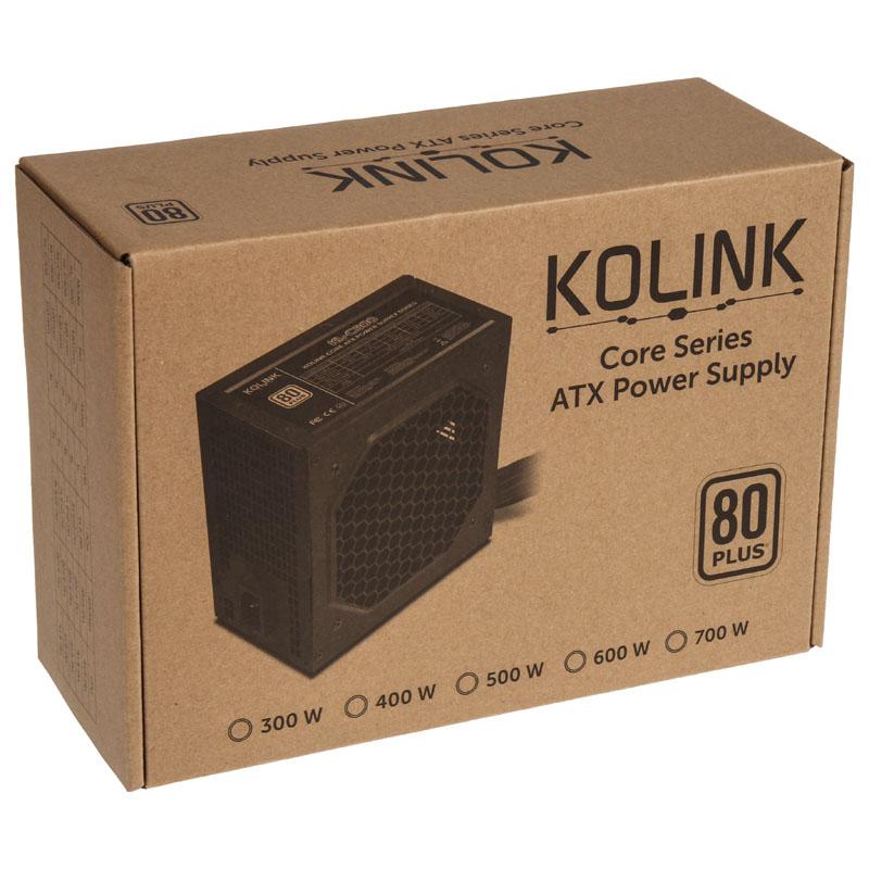 Kolink - Fonte Kolink Core 600W 80+
