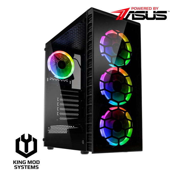 King Mod Systems - Computador King Mod Gamer ASUS R5 16GB 1TB GTX 1660 SUPER