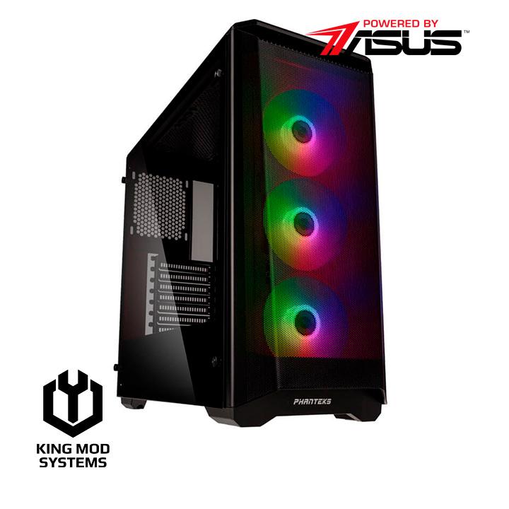 King Mod Systems - Computador King Mod Gamer ASUS R5 16GB 500GB RTX 3060