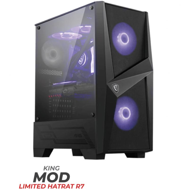 King Mod Systems - Computador King Mod Limited HatRat R7 16GB 1TB RTX 3070
