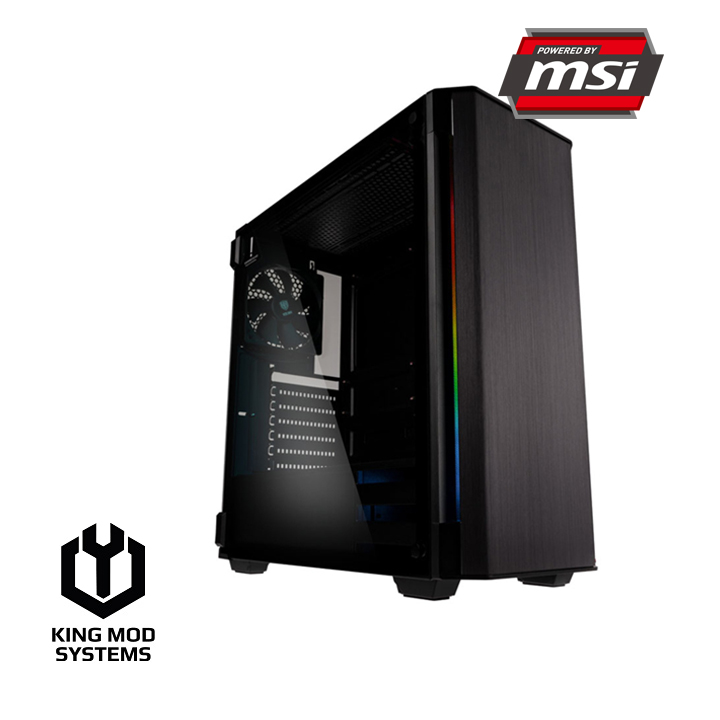 King Mod Systems - Computador King Mod Gamer MSI i5 16GB 1TB GTX 1650