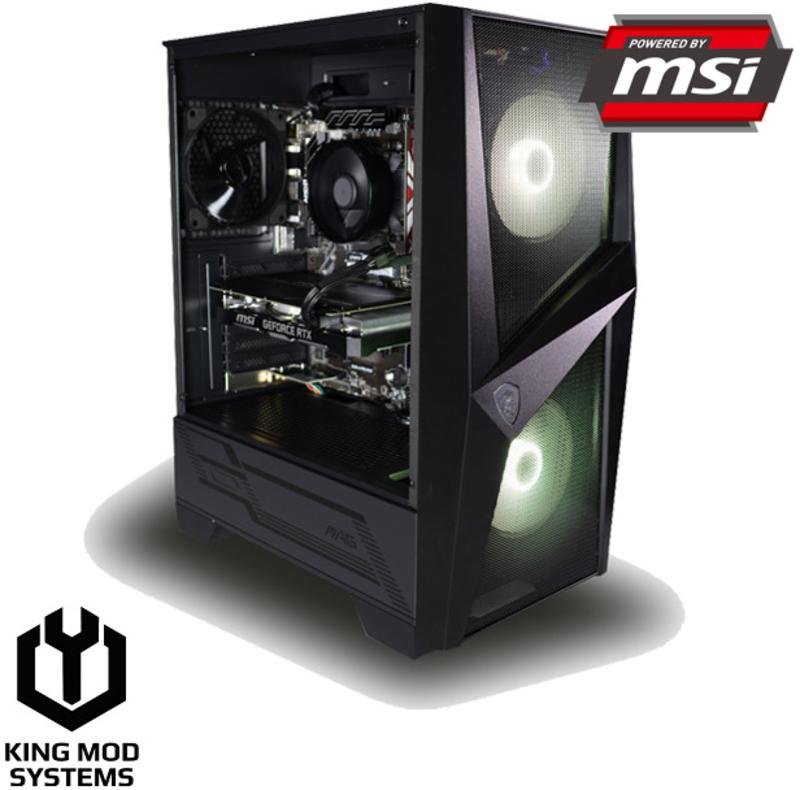 Computador King Mod Gamer MSI R5 16GB 500GB RTX 2060 WIFI