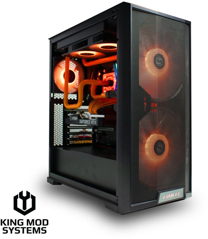 King Mod Systems - Computador King Mod Liquid EKWB Hydra R7 16GB 500GB RTX 3070