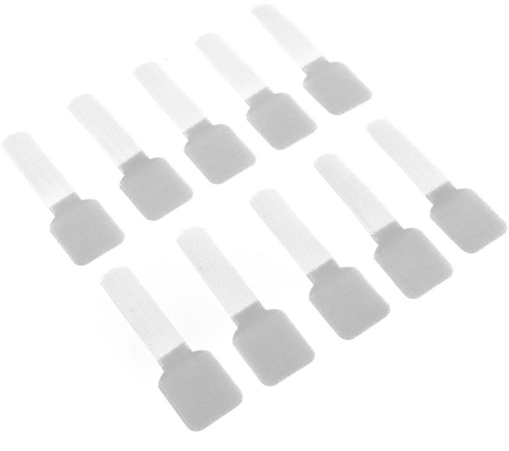 Abraçadeiras de Parede LTC Wall Branco (Pack 10)