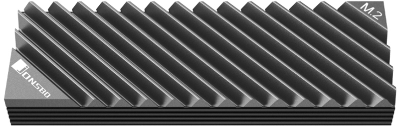 Jonsbo - Cooler Jonsbo M. 2-3 M.2 SSD Cinzento