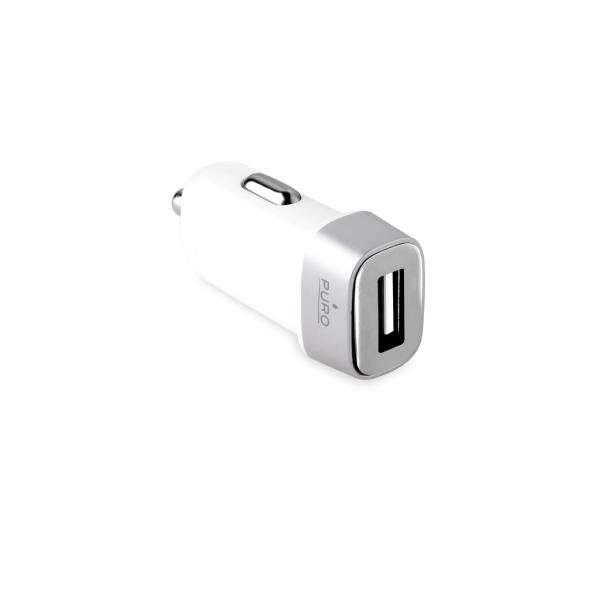 Carregador Isqueiro puro USB Compact Branco