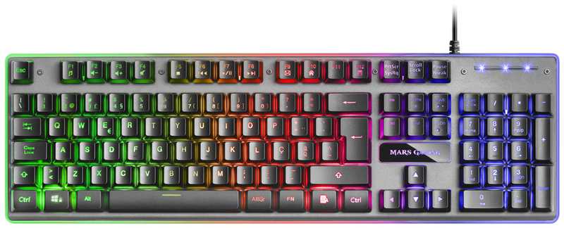 Teclado Mars Gaming MK220, H-Mechanical, Aluminio (PT)