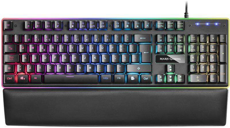 Teclado Mecânico Hibrido Mars Gaming MK320, RGB (PT)