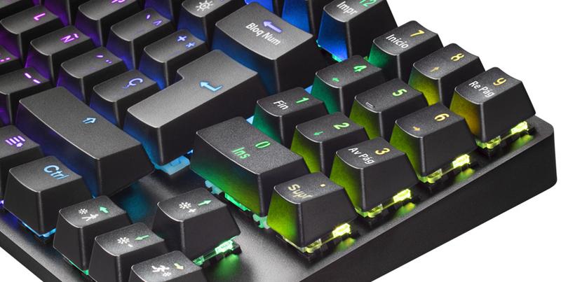 Mars Gaming - Teclado Mecânico Mars Gaming MKREVO PRO, TKL, Outemu Brown, RGB (PT)