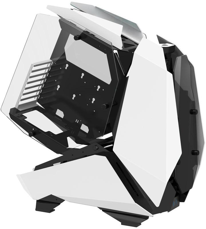 Jonsbo - Caixa Big Tower Showcase Jonsbo MOD5 Branco, Vidro Temperado