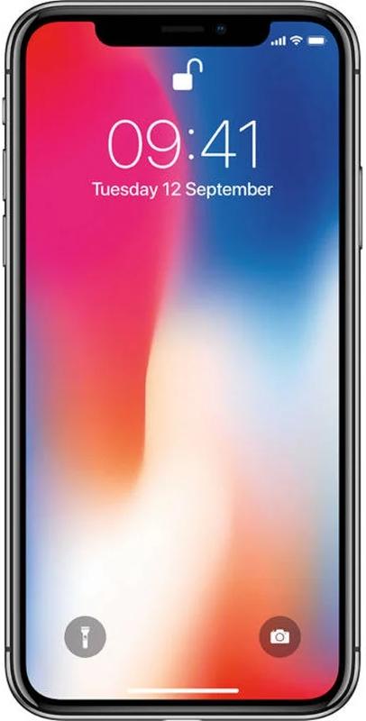 Apple - ** B Grade ** Smartphone Apple iPhone X 64GB Space Grey