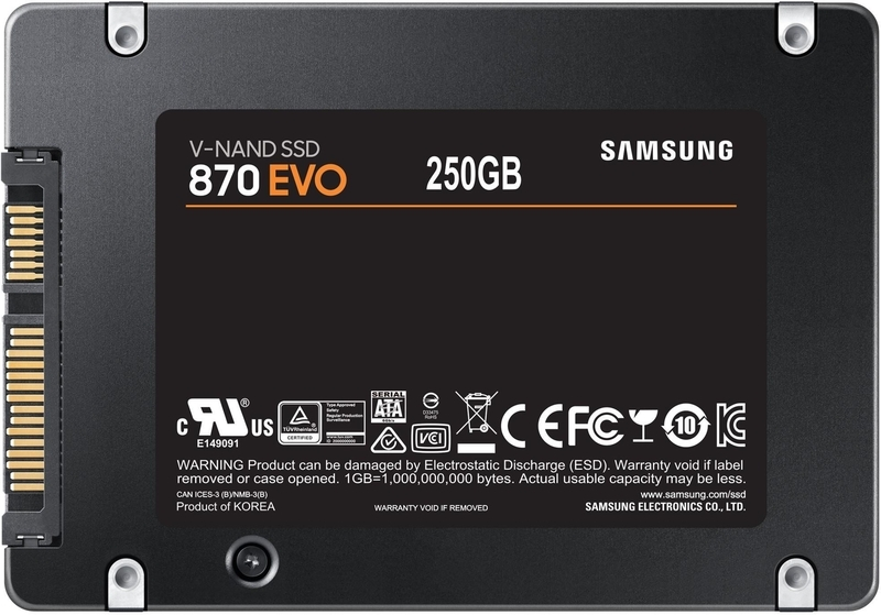 Samsung - Disco SSD Samsung 870 EVO 250GB SATA III