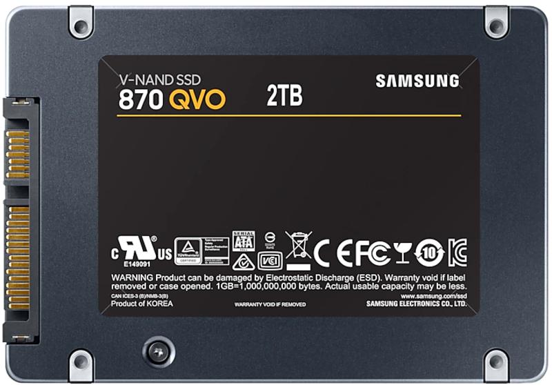 Samsung - Disco SSD Samsung 870 QVO 2TB SATA III