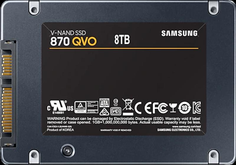 Samsung - Disco SSD Samsung 870 QVO 8TB SATA III