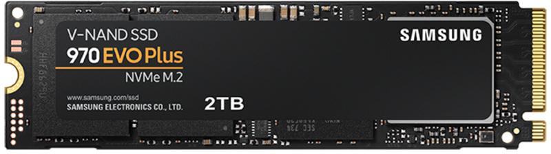Disco SSD Samsung 970 EVO Plus 2TB M.2 NVMe