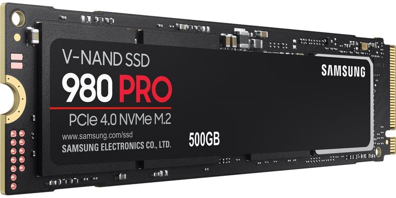 Samsung - Disco SSD Samsung 980 PRO 500GB M.2 NVMe