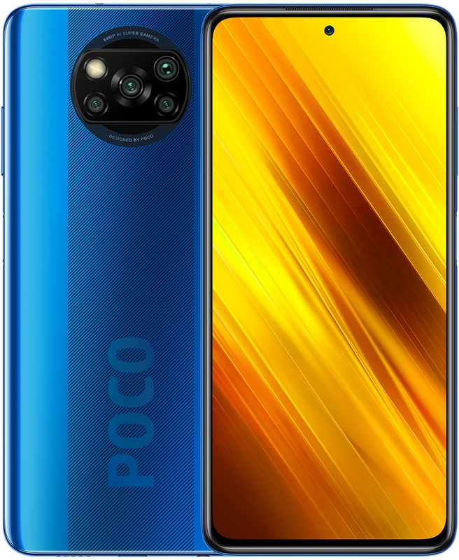 "Xiaomi - Smartphone Xiaomi Poco X3 NFC 6.67"" (6 / 128GB) Cobalt Blue"