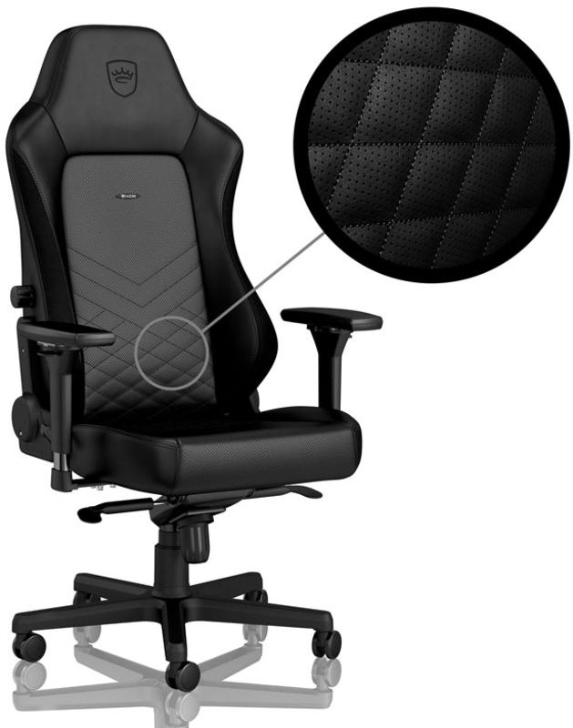 Cadeira noblechairs HERO PU Leather Preto