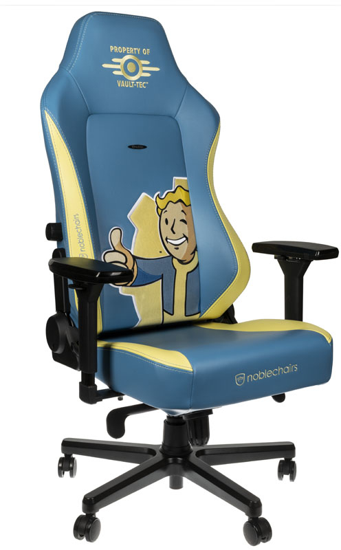 noblechairs - Cadeira noblechairs HERO - Fallout Vault-Tec Edition