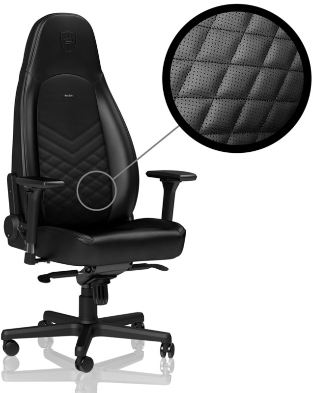 noblechairs - Cadeira noblechairs ICON PU Leather Preto
