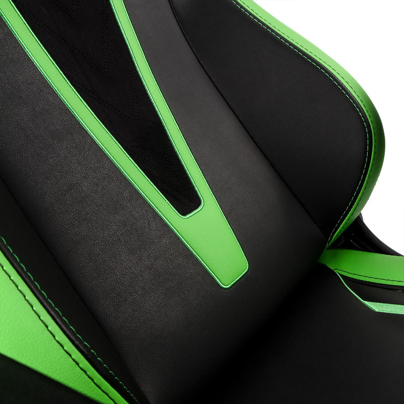 noblechairs - Cadeira noblechairs EPIC PU Leather Sprout Edition Preto / Verde