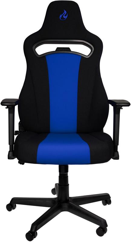 Nitro Concepts - Cadeira Nitro Concepts E250 Gaming Preta / Azul
