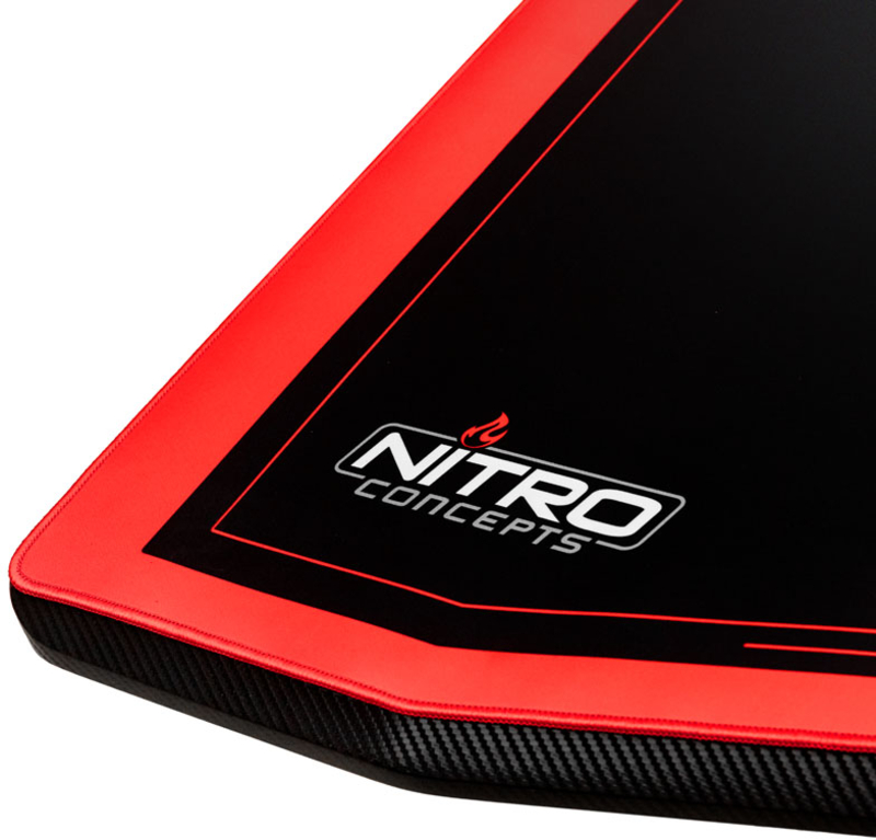 Nitro Concepts - Secretária Gaming Nitro Concepts D16M Carbon Red - Manual