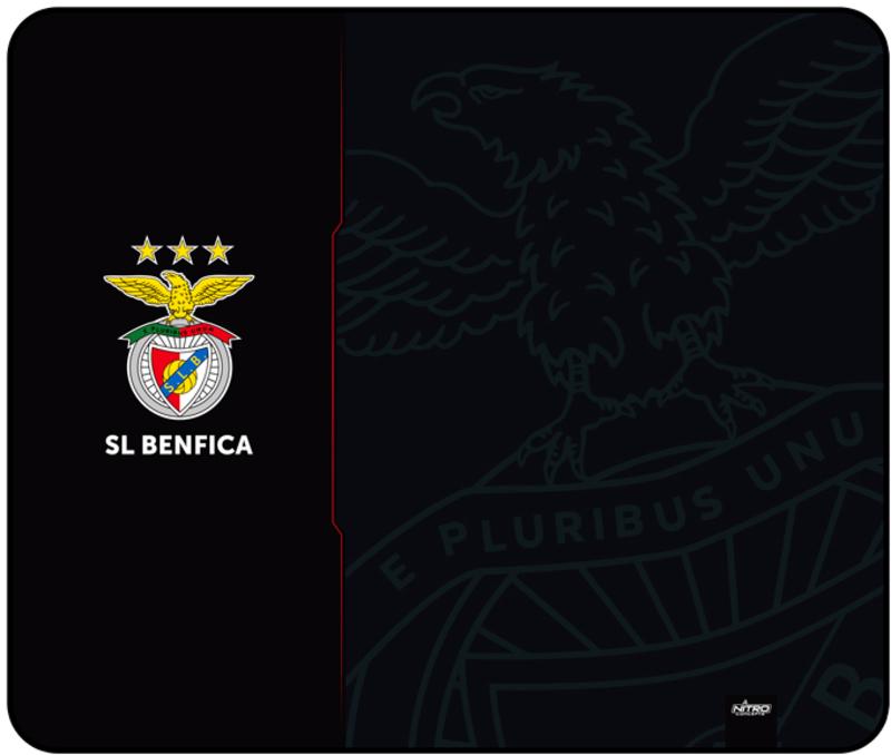 Tapete Nitro Concepts Sport Lisboa e Benfica, Fan Edition - Preto