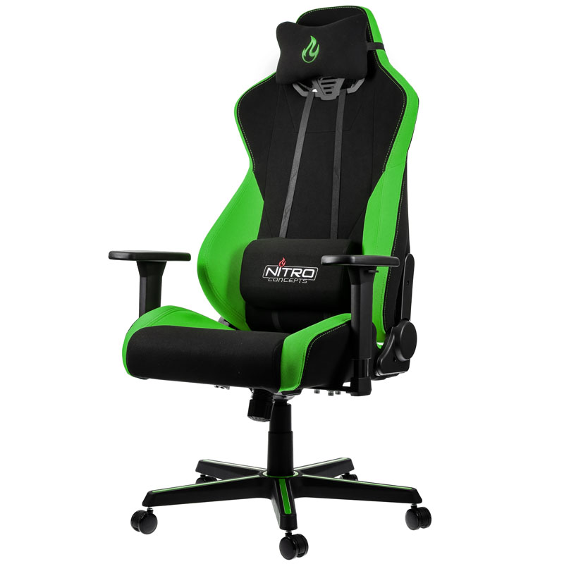 Nitro Concepts - Cadeira Nitro Concepts S300 Gaming Atomic Green
