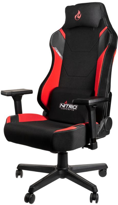 Nitro Concepts - Cadeira Nitro Concepts X1000 Gaming Preta / Vermelha