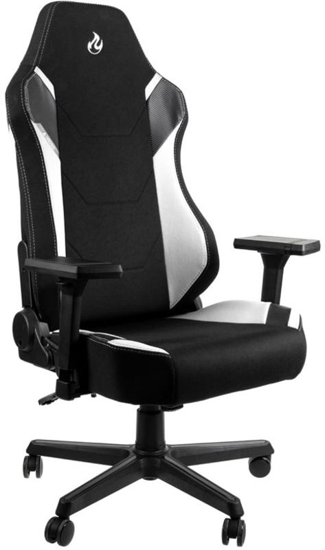 Nitro Concepts - Cadeira Nitro Concepts X1000 Gaming Preta / Branca