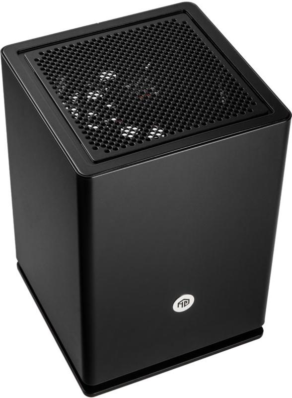 HGC Computers - Caixa Mini-ITX HGC Osmi 3.1 Aluminio Preta