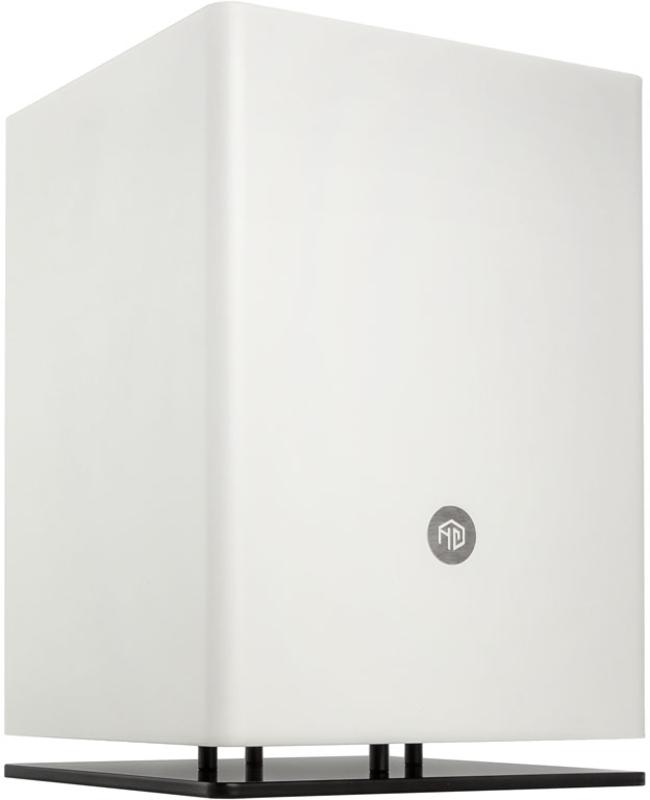 HGC Computers - Caixa Mini-ITX HGC Osmi 3.1 Aluminio Branca