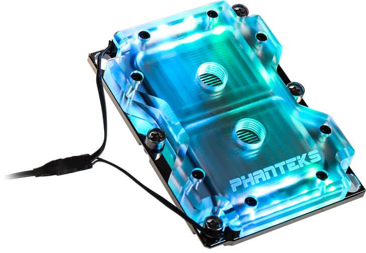 Bloco CPU Phanteks C3647I DRGB LED Socket 3647, Narrow Type