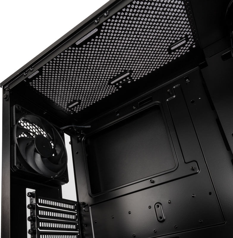 Phanteks - Caixa ATX Phanteks Eclipse P360X Preto, Vidro Temperado, DRGB