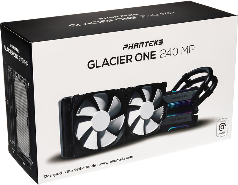 Phanteks - Cooler CPU a Água Phanteks Glacier One 240MP D-RGB Preto - 240mm