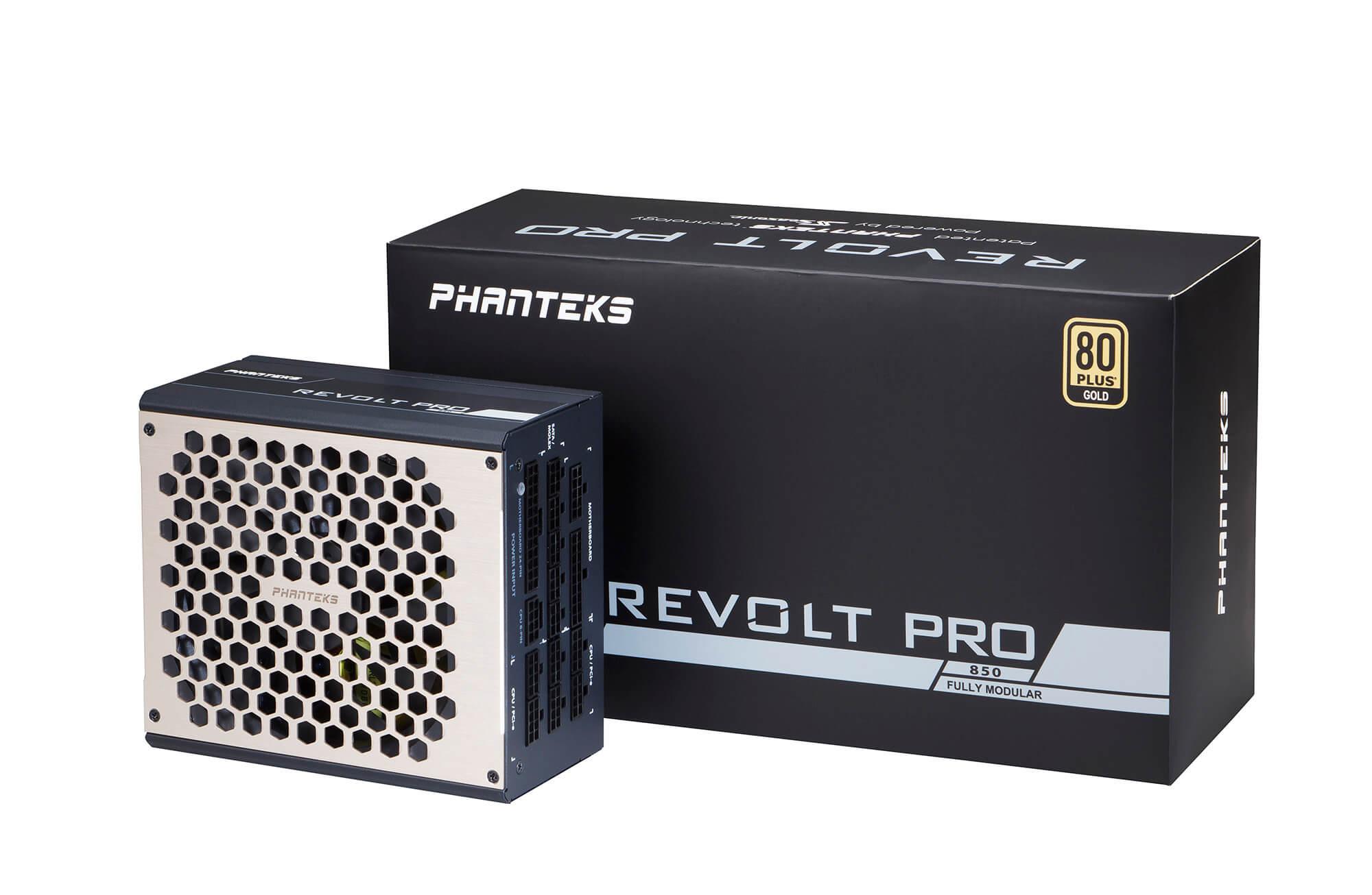 Phanteks - Fonte Modular Phanteks REVOLT PRO 850W 80+ Gold