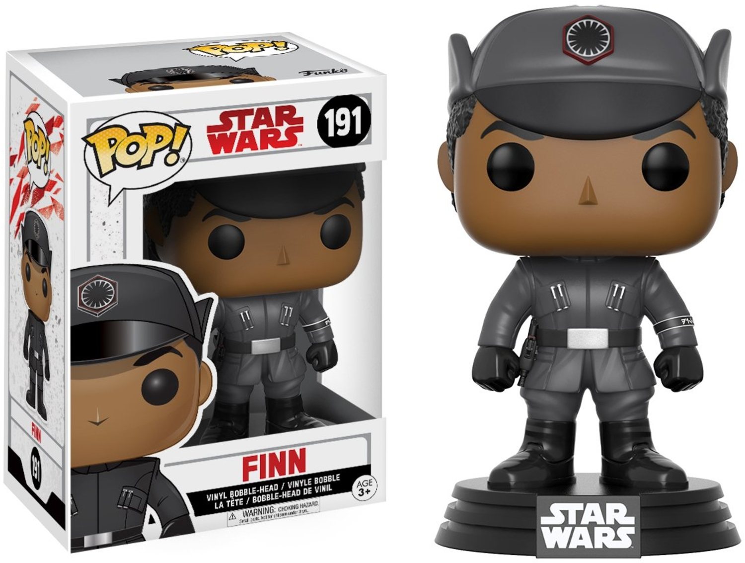 Funko - POP! Vinyl - Star Wars: Episode 8 - Finn #191