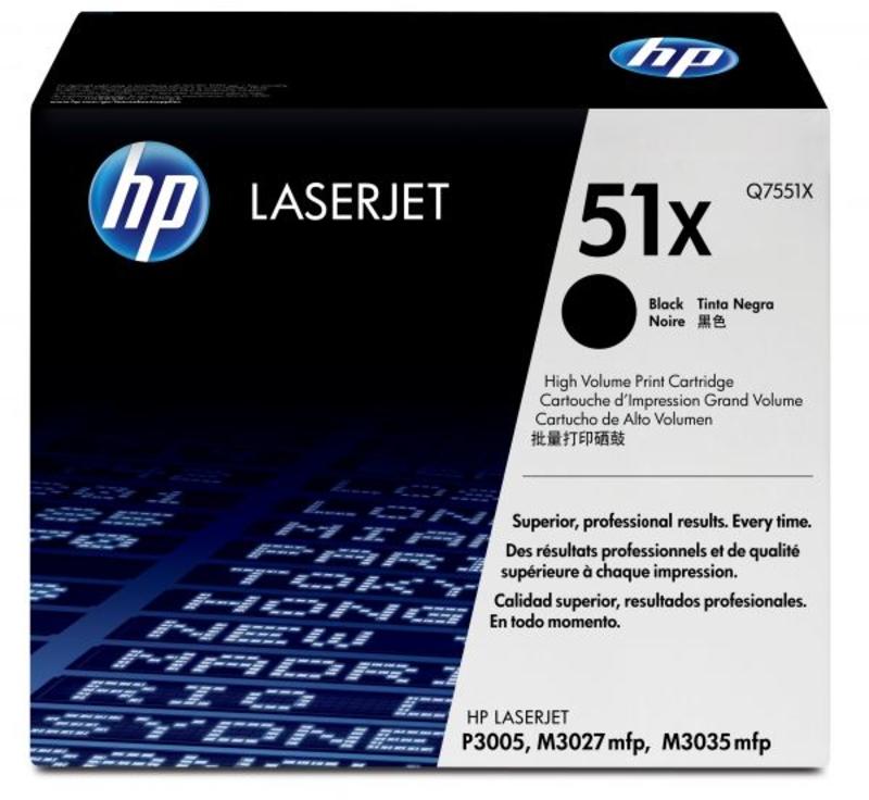 Toner HP 51X Preto